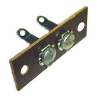 TERM STRIP 2P SOLDER LUG BAKELITE BASE