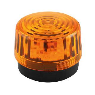 STROBE LIGHT 12VDC AMBER 3.93IN 
