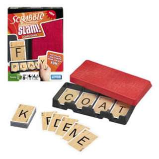 SCRABBLE SLAM DLX CARD GAME 