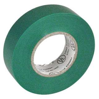 TAPE INSULATING PVC GREEN 3/4INX 66FT