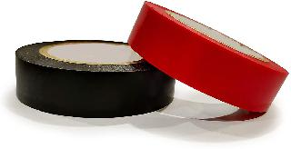 TAPE ELECTRICAL PVC BLK/RED 3/4INX70FT