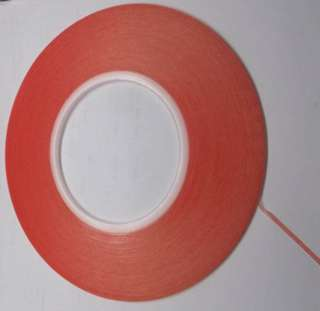 TAPE DOUBLE SIDED 0.20X2MM 50MT CLEAR HEAVY DUTY
