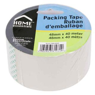 TAPE PACKING 48MM X 40M CLEAR 
