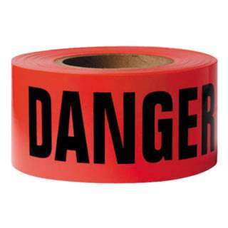 TAPE DANGER 3INX500FT 