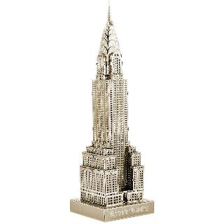 CHRYSLER BUILDING METAL EARTH 3D METAL MODEL KITS