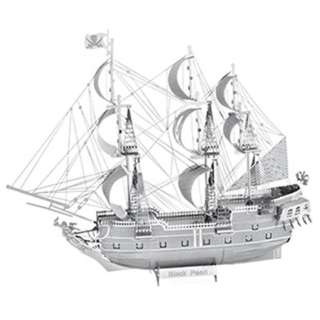 BLACK PEARL METAL EARTH 3D METAL MODEL KITS
