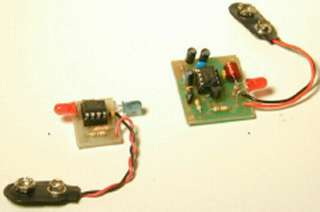 INFRARED TRANSMITTER & RECEIVER 