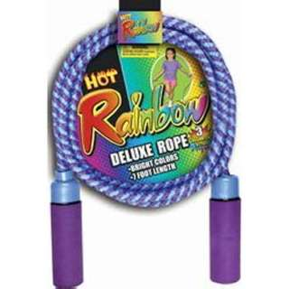 DELUXE JUMP ROPE 8FT ASSORTED COLOURS