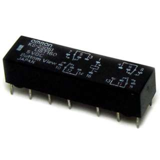 RELAY DC 5V 4P2T 2A 14P PC 