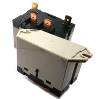 RELAY AC 100-120V 1P1T 30A 4P QT 30A/277VAC WITH FLANGE