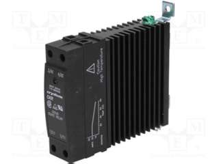 RELAY SSAC 90-280V 30A/24-280VAC DIN RAIL HEATSINK MT