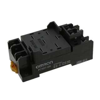 RELAY SOCKET 6P SQR SCREW 15A 250VAC DIN/CHMT FOR OMRON MKS1X
