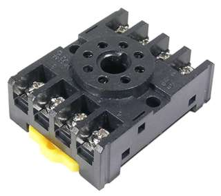 RELAY SOCKET 8P RND SCREW CHMT/ DIN RAIL