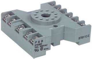 RELAY SOCKET 11P RND SCREW CHMT 