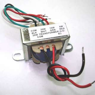 TXFR AUDIO IMPED MATCH PRI:100V (5-20WATTS) SEC:8R