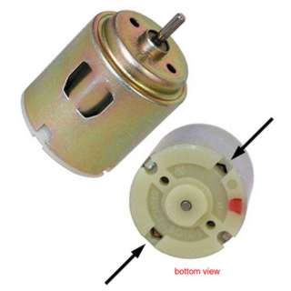 MOTOR DC 3V 24X38MM 5470RPM USE JSM-3V0-R24-Z