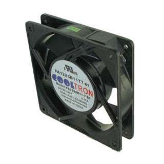FAN AC 115V 4.7X1IN .17A W/TAB BB 100-125VAC CFM 59.9/69.0