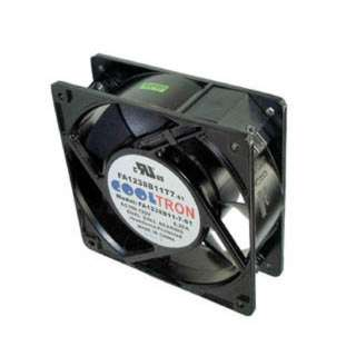 FAN AC 115V 4.7X1.5IN BB W/TAB 84/100CFM