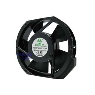 FAN AC 230V 6.7X1.5IN .14A W/TAB CFM:190/235 NOISE:55/5DBA BALL