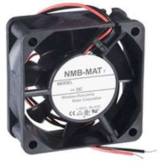 FAN DC 12V 2.4X1IN .22A 2 WIRE CFM:21.5 RPM:4550 33.5DB