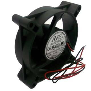 FAN DC 12V 3.1X1IN .12A W/WIRE 8CFM
