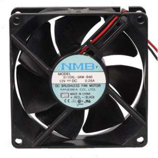 FAN DC 12V 3.1X1IN 0.26A 35CFM 31DB WITH WIRE
