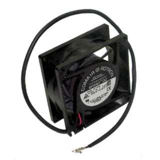 FAN DC 12V 3.1X1.2IN .38A 2WIRE WITH CONTACT PINS CFM:40 PLASTIC