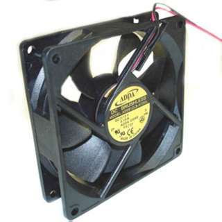 FAN DC 12V 3.6X1IN .13A W/WIRE CFM:35 SPEED:2050RPM NOISE:25DBA