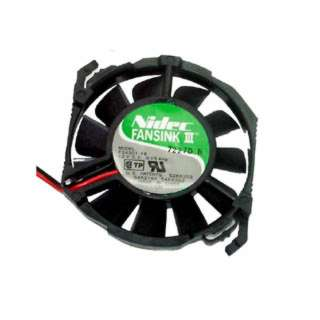FAN DC 12V 2.5X.5IN .15A W/WIRES FOR CPU RND