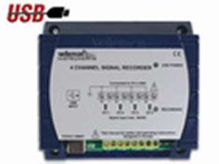 4 CHANNEL RECORDER/LOGGER USB WITH SOFTWARE