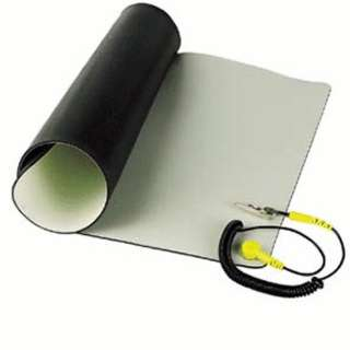 ANTISTATIC MAT TABLE 23X47IN KIT BEIGE COLOUR WITH GROUNDING CORD