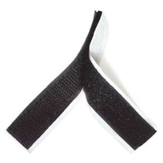 VELCRO HOOK & LOOP 20MM X 27 CM 1 PAIR BLACK AND WHITE