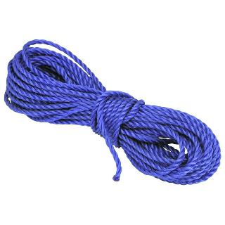 ROPE POLY TWISTED 20FT ASSORTED COLORS ALL PURPOSE