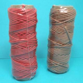 ROPE BRAIDED POLYSTER TWINE 50FT ASSORTED COLORS