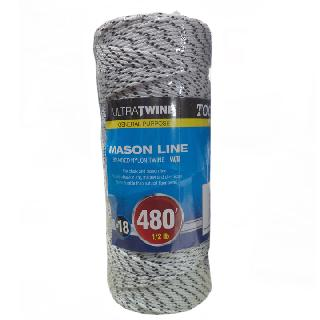 ROPE BRAIDED NYLON TWINE W/B 480FT FOR CHALK AND MASON LINE