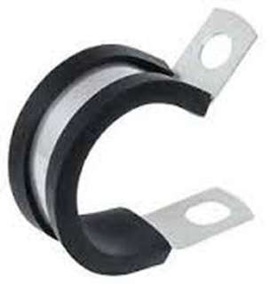 CABLE CLAMPS INSULATED 1INCH RUBBER INSULATED