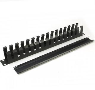 CABLE MANAGEMENT FOR 1U 19IN RACK MOUNT DUCT TYPE