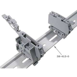 DIN RAIL 7.5X35MM 1 METER LONG ALUMINUM