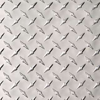 ALUMINUM TREAD PLATE 12X24IN .063IN THICK DIAMOND PLATE
