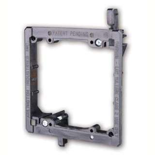 WALL PLATE MOUNTING BRACKETS DUAL FITS INTO 1/4-1IN DRYWALL