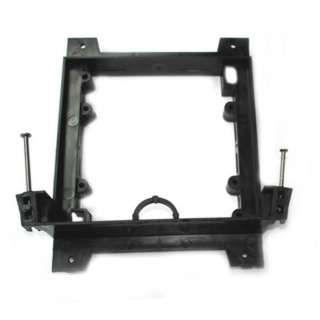 WALL PLATE MOUNTING BRACKETS BLK DUAL FITS INTO 1/4-1IN DRYWALL