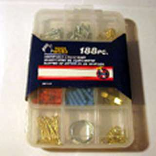 SCREWS HOOKS ANCHOR ASSORTMENT HOUSEHOLD ASSORTMENT