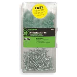 SCREWS AND ANCHOR SET