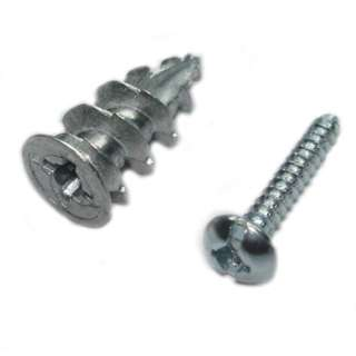 ANCHOR WALLDRILLER ZINC #8 DRYWALL 63LBS W/SCREWS 10PC/SET