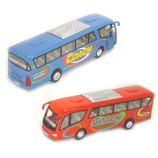 BUS 7INCH COACH ASSORTED COLORS
