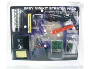 SOLDERING STARTER KIT WITH LEAD FREE SOLDER & SOLDERING IRON