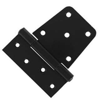 HINGE GATE 3-1/2IN STEEL BLK 
