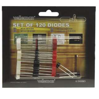 DIODE ASSORTED 120PCS 