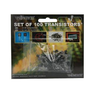 TRANSISTOR ASSORTED 100PCS 