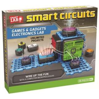 SMART CIRCUITS GAMES & GADGETS ELECTRONICS LAB 50 PROJECTS